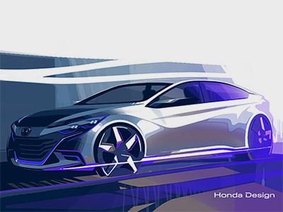 Появилась информация о новинках, которые Honda покажет на автосалоне в Пекине