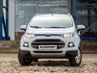 Кроссоверы Ford EcoSport российской сборки проходят тестовые испытания
