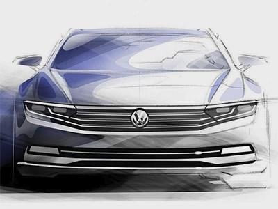 Новое поколение Volkswagen Passat получит дизельный мотор и гибридную силовую установку