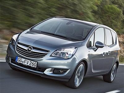 Дизель Opel Meriva станет мощнее и экономичнее