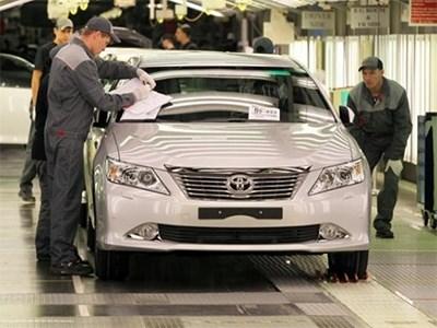 Петербургский завод Toyota выпустил за полгода 19 129 седанов Camry