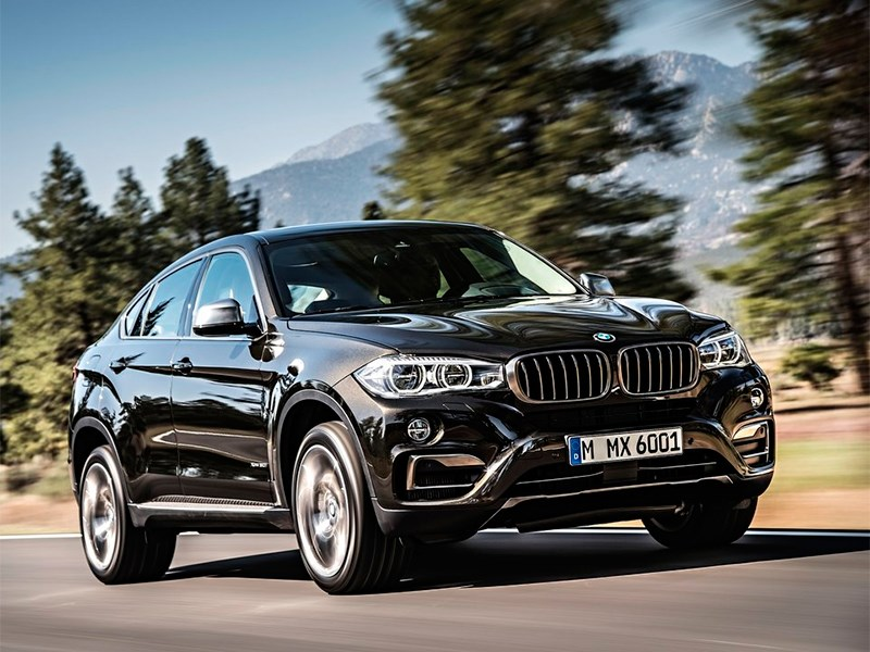 BMW X6 2015 вид спереди