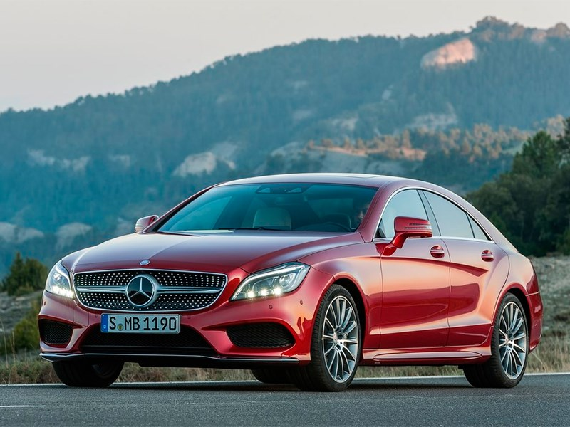 Mercedes-Benz CLS-Klasse 2015 вид спереди