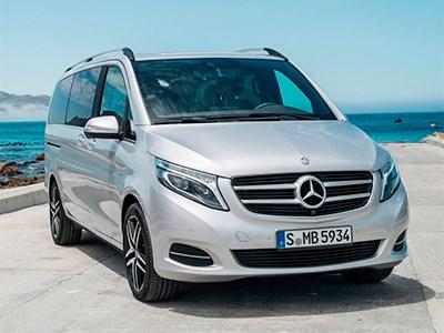 Mercedes-Benz разработал полноприводную версию минивэна V-Class