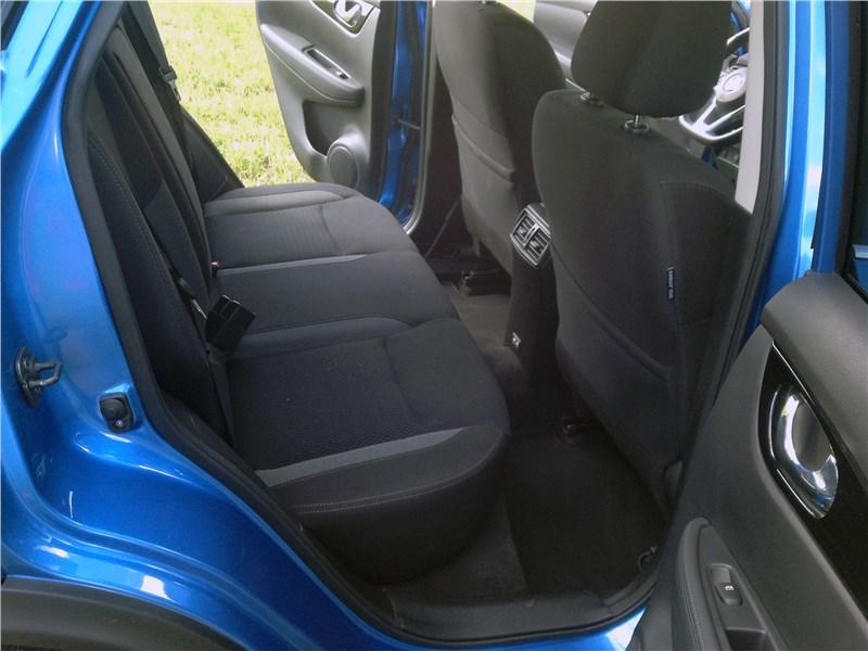 Nissan Qashqai 2018 задний диван