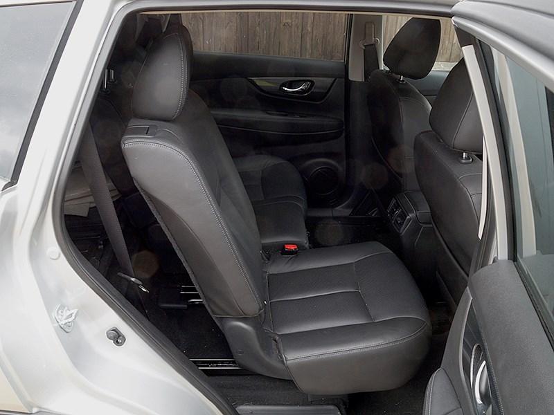 Nissan X-Trail 2014 задний диван