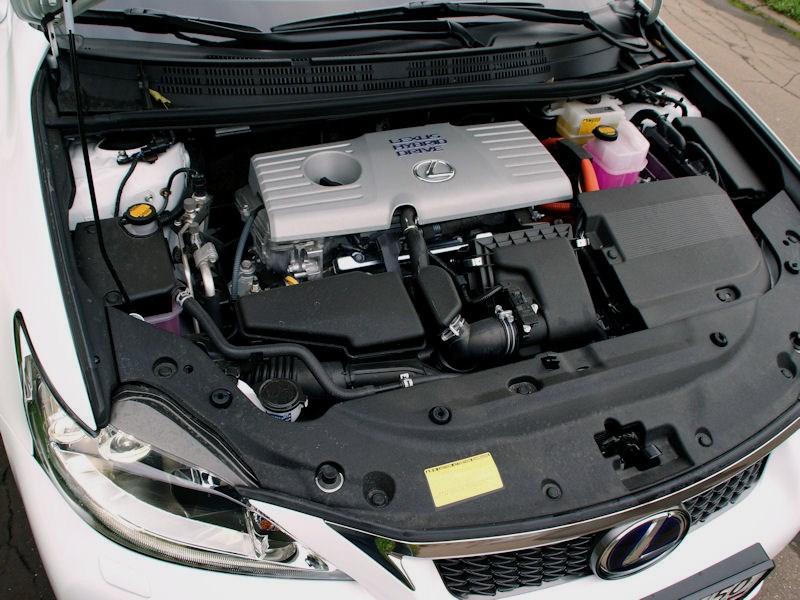 Lexus CT 200h 2011 двигатель