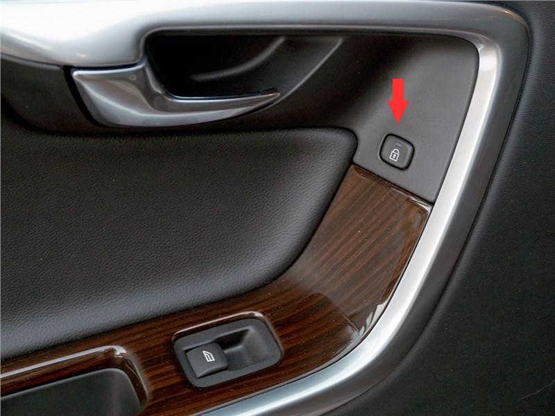 Volvo V60 Cross Country 2015 кнопки управления центральным замком