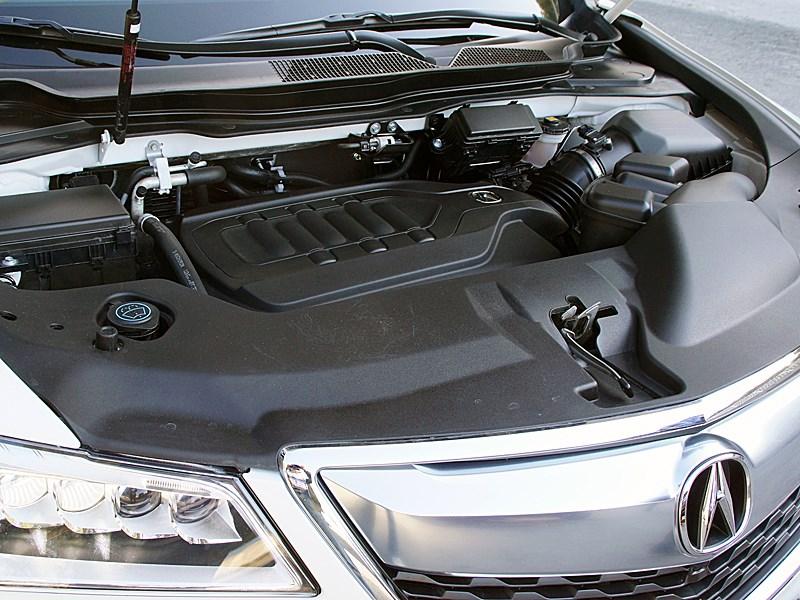Acura MDX 2014 двигатель