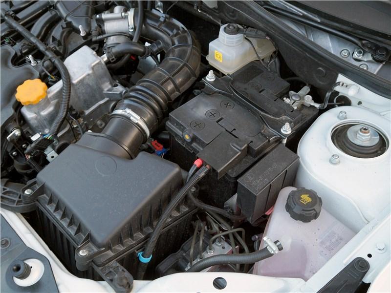 Datsun on-Do 2017 моторный отсек