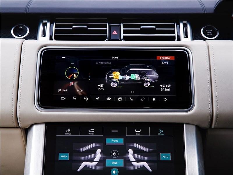 Land Rover Range Rover PHEV 2018 центральная консоль