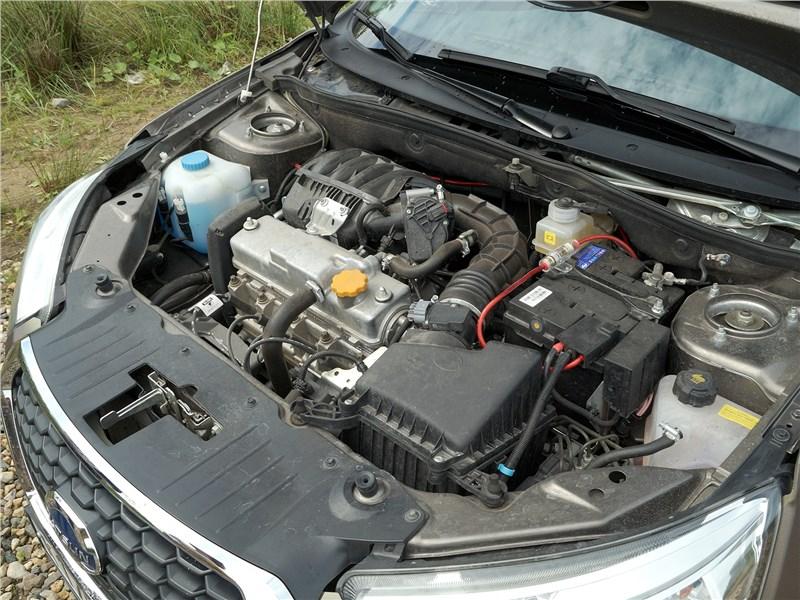 Datsun mi-Do 2018 моторный отсек