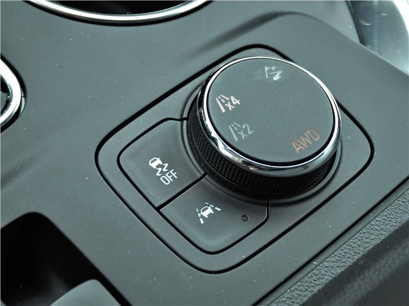 Chevrolet Traverse 2018 выбор режимов