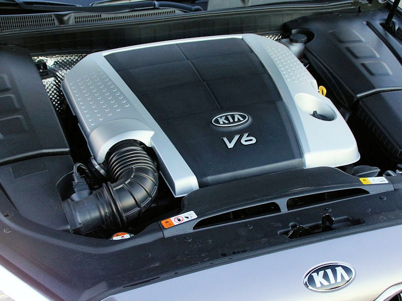 Kia Quoris 2013 двигатель
