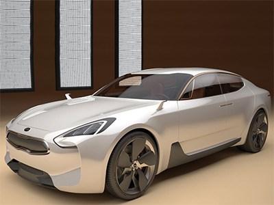 Проекту серийного Kia GT дан «зеленый свет»