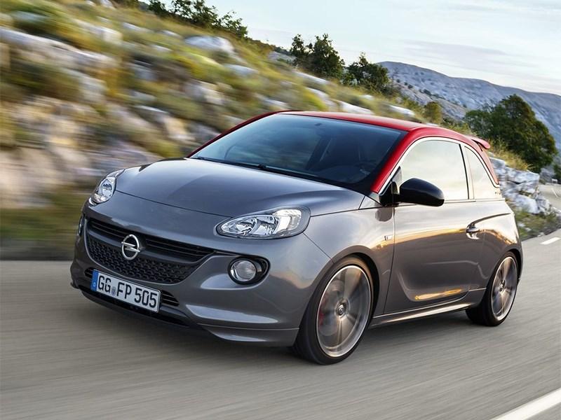 Opel Adam S 2014 вид спереди