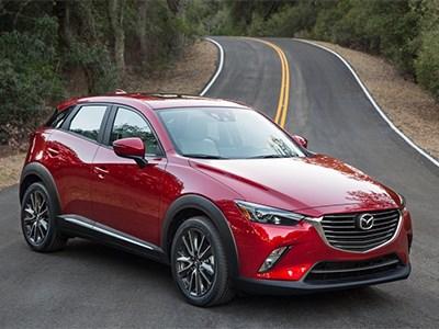 В Лос-Анджелесе дебютировал самый маленький кроссовер от Mazda