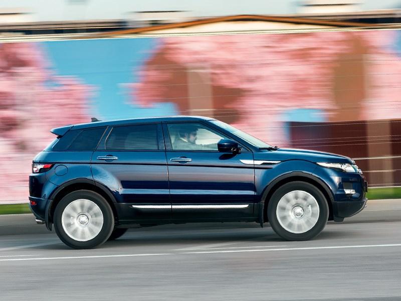 Land Rover Range Rover Evoque 5-door 2013 вид сбоку