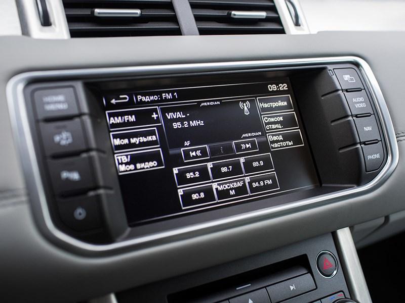 Land Rover Range Rover Evoque 5-door 2013 монитор компьютера