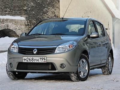 На российском рынке прекращаются продажи хэтчбека Renault Sandero первого поколения