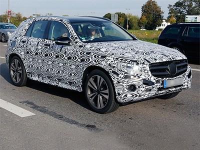 Mercedes-Benz тестирует в Германии новый внедорожник GLC