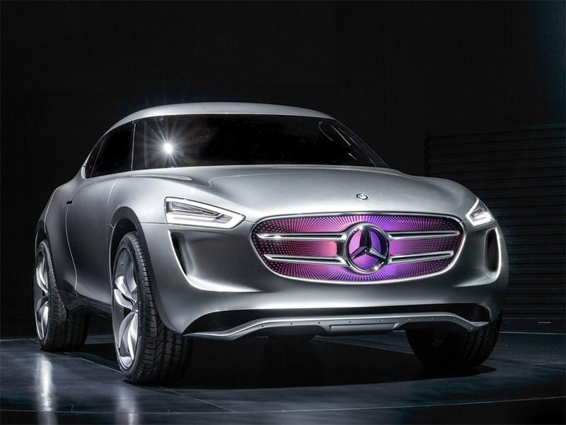 Mercedes-Benz G-Code concept 2014 вид спереди