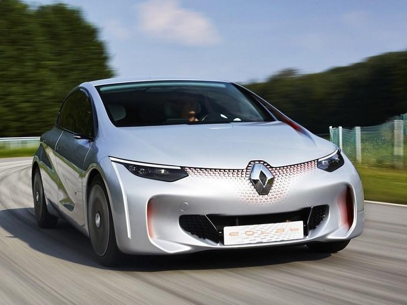 Renault Eolab Concept 2014 вид спереди