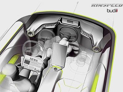 Автомобиль с автопилотом и смещающейся рулевой колонкой дебютирует уже весной