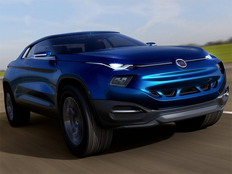 Fiat FCC4 concept 2014 вид спереди сбоку