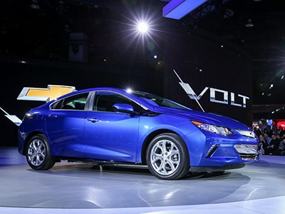 В Детройте дебютировал Chevrolet Volt нового поколения