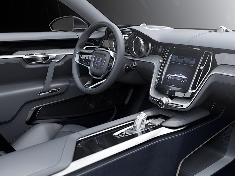 Volvo Coupe концепт 2013 интерьер фото 1