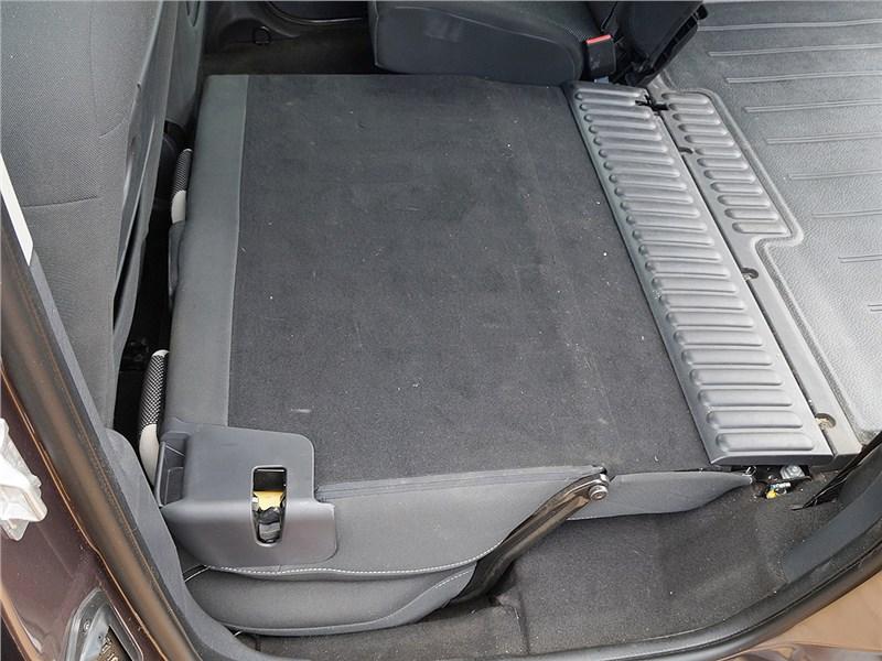 Renault Kangoo 2014 задний диван