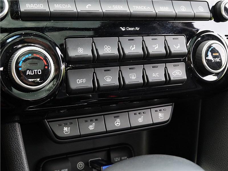 Kia Sportage 2016 кнопки управления