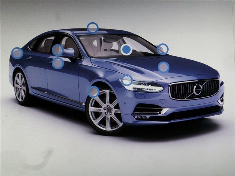 Volvo S90 2019 монитор