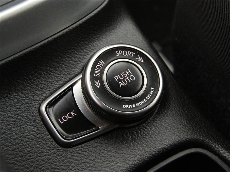 Suzuki SX4 2016 выбор режимов