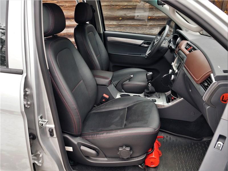 Jac T6 2019 передние кресла