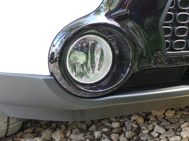 Kia Soul 2014 передние противотуманки