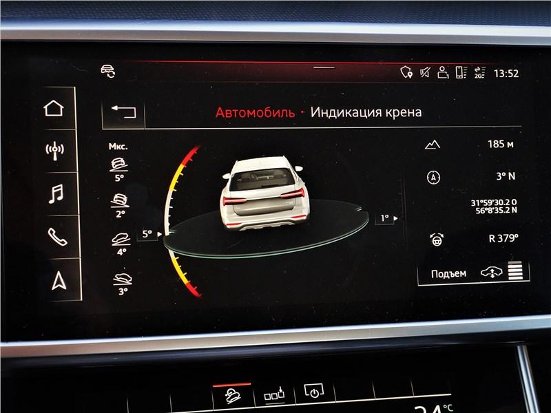 Audi A6 allroad quattro (2020) монитор