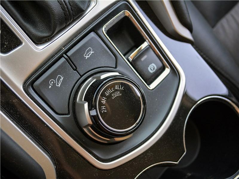 Mitsubishi Pajero Sport (2020) выбор режимов движения