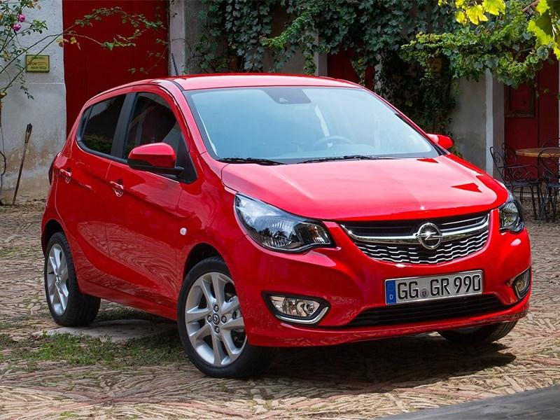 Opel Karl 2015 вид спереди