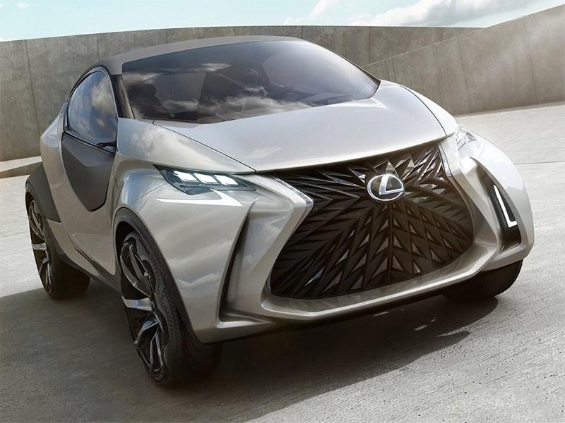 Lexus LF-SA Concept 2015 вид спереди