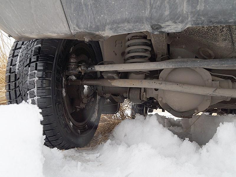 UAZ Patriot 2014 передняя подвеска