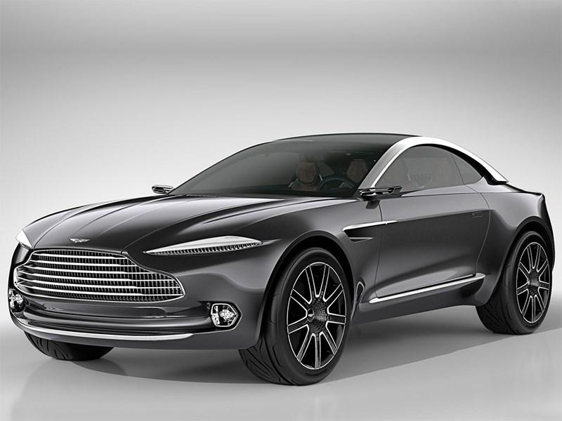 Aston Martin DBX Concept 2015 вид спереди