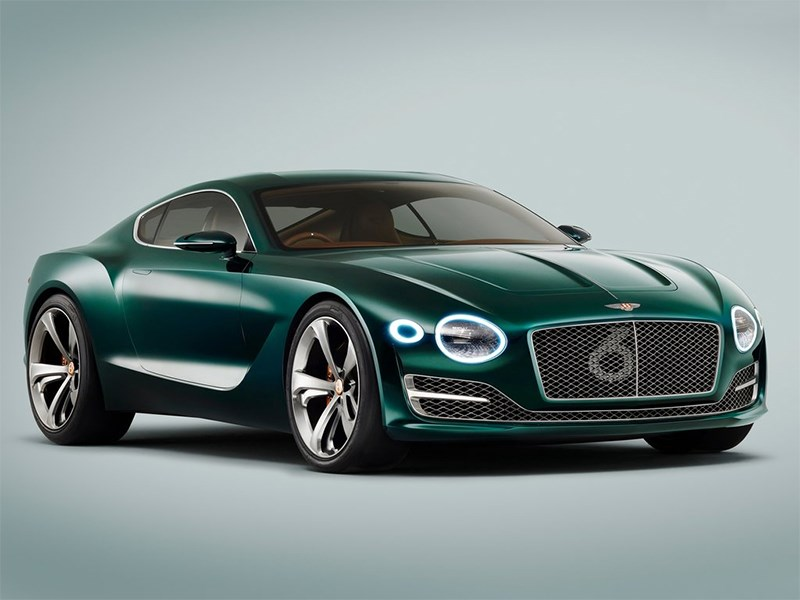 Bentley EXP 10 Speed 6 Concept 2015 вид спереди