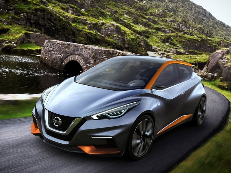 Nissan Sway Concept 2015 вид спереди