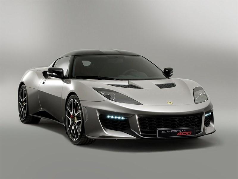 Lotus Evora 400 2016 вид спереди