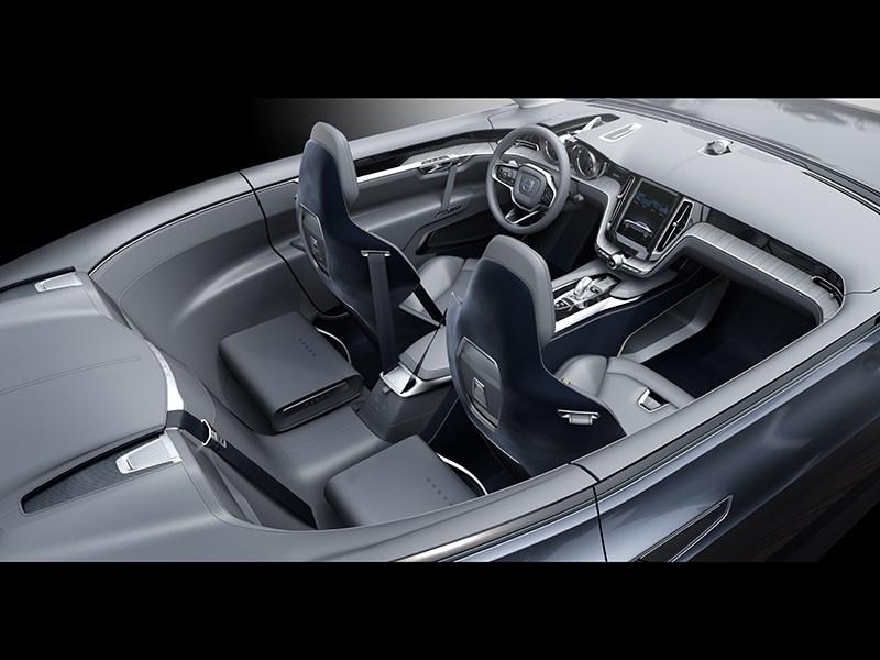 Volvo Coupe концепт 2013 интерьер фото 2