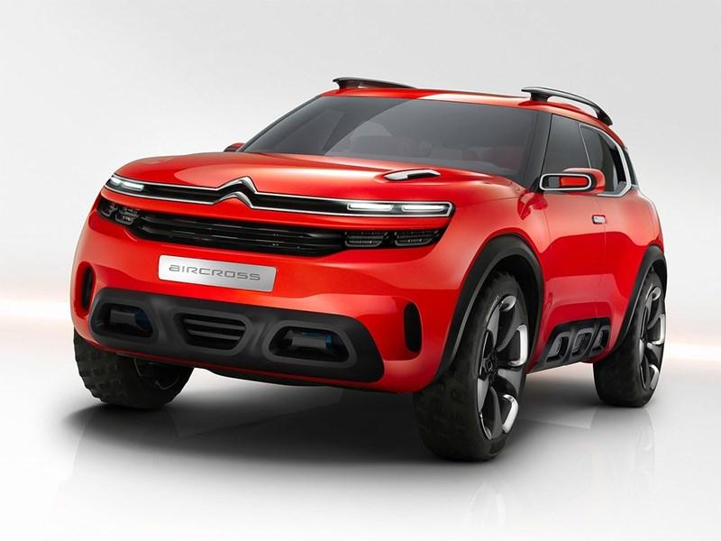 Citroen Aircross Concept 2015 вид спереди