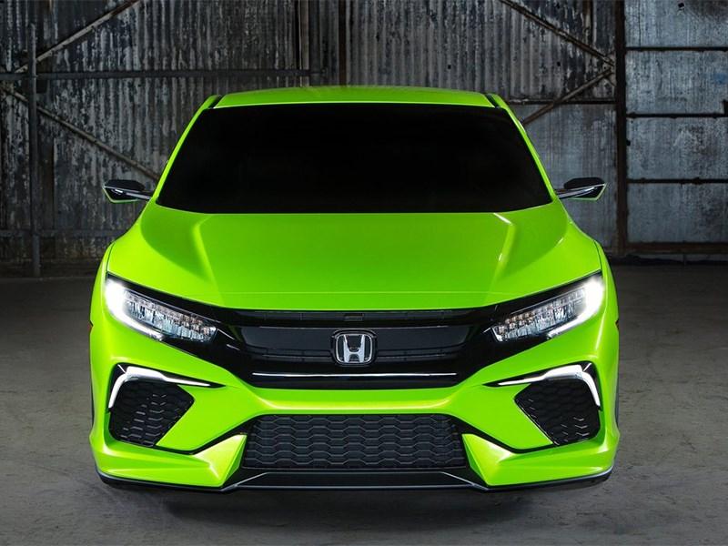 Honda Civic Concept 2015 вид спереди