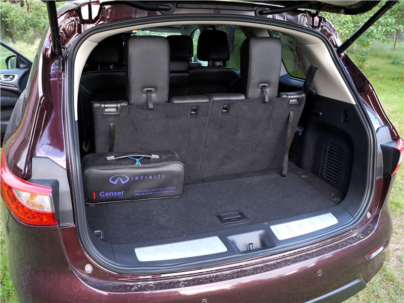 Infiniti QX60 2016 багажное отделение